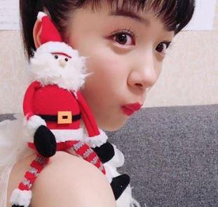 サンタを乗せた永野芽郁