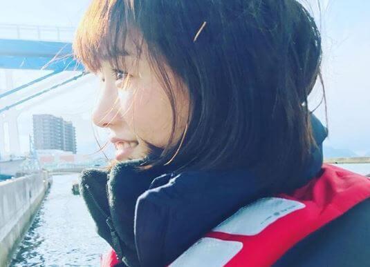 ダウンコートを着る女優・綾瀬はるか