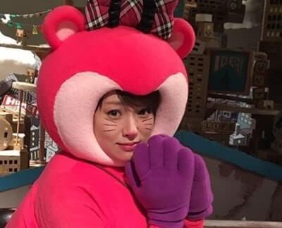 マスコット姿の女優・深田恭子
