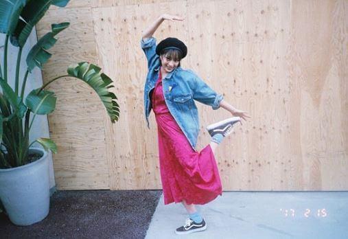 踊っている女優・広瀬すず
