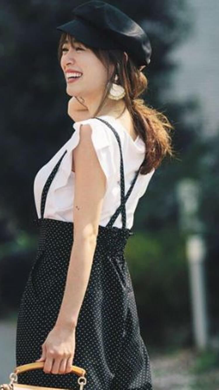 笑顔のモデル・泉里香