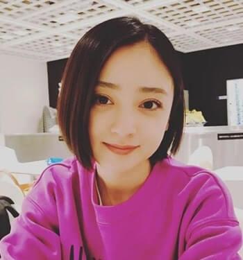 ショートヘアーの女優・安達祐実