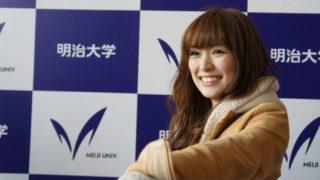 大学を卒業するモデル・泉里香