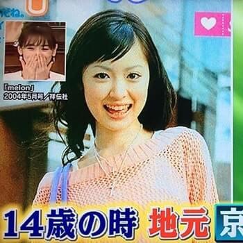 14歳のモデル・泉里香