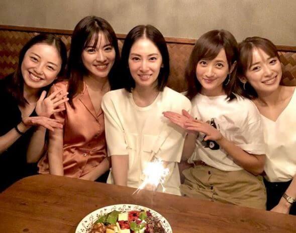 女子会を開いた泉里香と北川景子