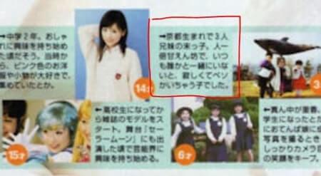 モデル・泉里香の雑誌のインタビュー記事