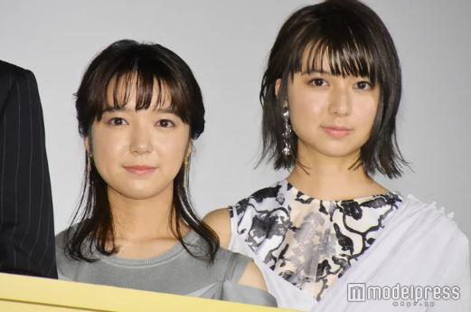 試写会の女優・上白石萌音と妹・萌歌
