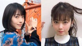 女優・浜辺美波と女優・小芝風花