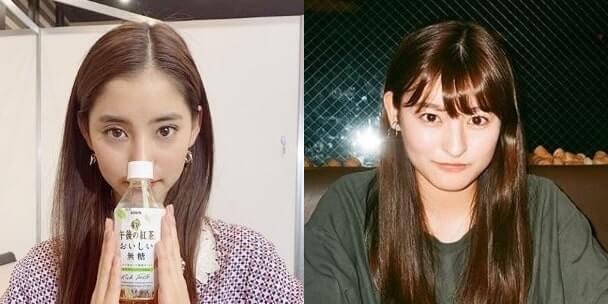 モデル・新木優子と女優・森高愛の比較画像