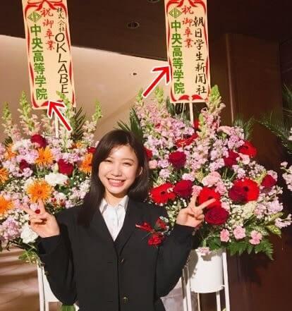スーツ姿のモデル・小倉優香