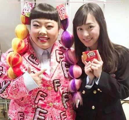 タレント・渡辺直美と女優・福原遥