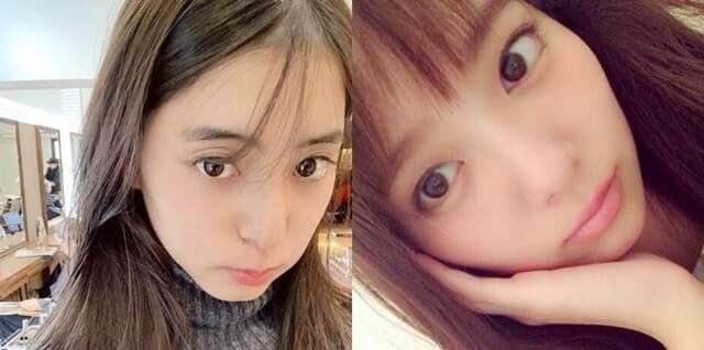 モデル・新木優子とモデル・新川優愛の比較画像