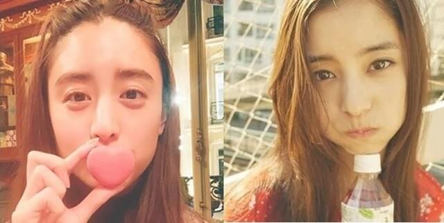 山本美月と新木優子の比較画像1枚目