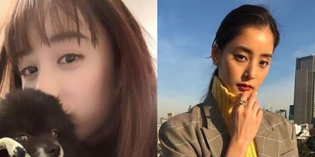 山本美月と新木優子の比較画像3枚目