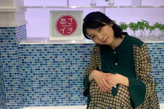 テレビ番組『あさイチ』に出演する女優・松本穂香