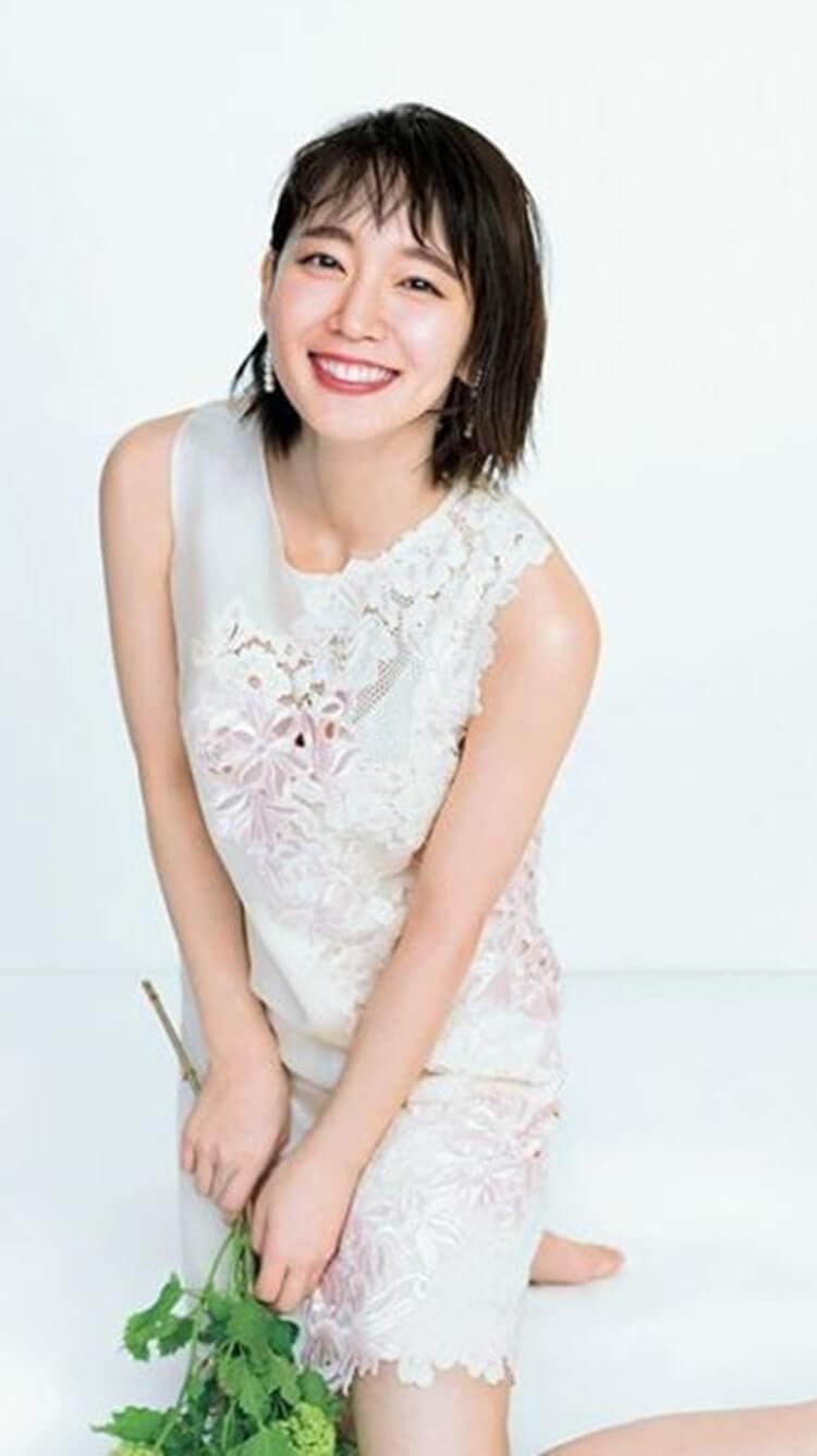植物を持つ女優・吉岡里帆