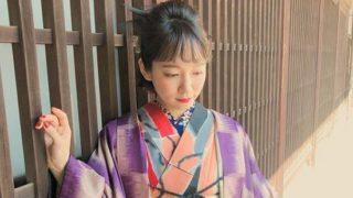 着物姿の女優・吉岡里帆