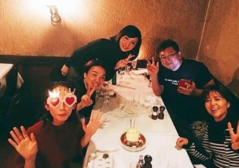 誕生日をお祝いされる女優・吉岡里帆