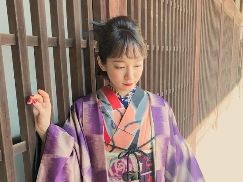 和装の女優・吉岡里帆