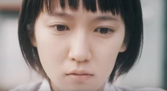ぱっつん前髪の女優・吉岡里帆
