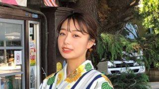 浴衣姿のアナウンサー・宇垣美里