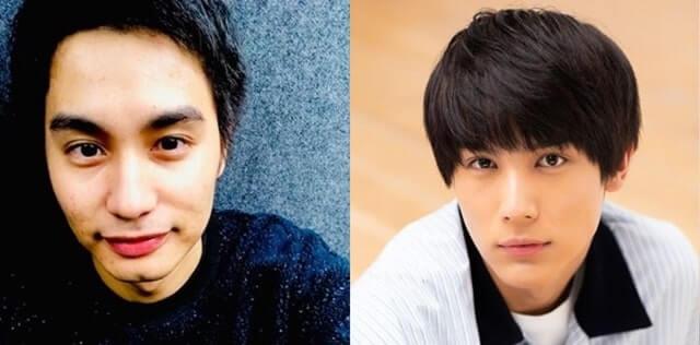 中村蒼と中川大志の顔画像比較
