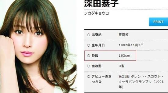 女優・深田恭子の公式プロフィール