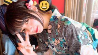 浴衣姿の女優・池田エライザ
