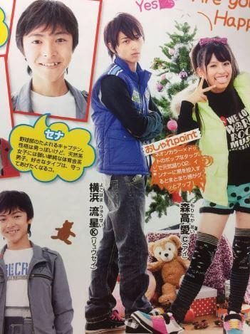 ファッション誌『ニコ☆プチ』の1ページ